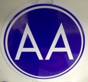 AA Sign