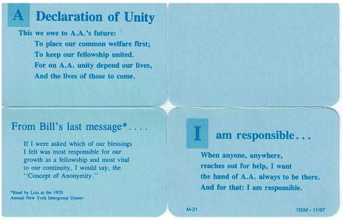 Wallet Card Responsibility
