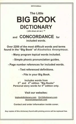 Big Book Dictionary