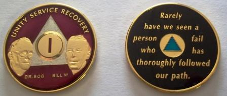 Tri Plate Bill and Bob Medallions