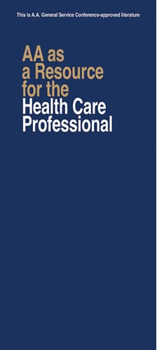 AA and the Medical Profession